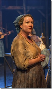 """Sarah Charipar stars as Agatha in The House Theatre's """"The Revel"""" by Damon Kiely and Jess McIntosh, directed by Leslie Buxbaum Danzig. (photo credit: Michael Brosilow)"""