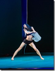 """Victoria Jaiani in Joffrey Ballet Chicago's """"Sylvia,"""" choreographed by John Neumeier, music by Léo Delibes. (photo credit: Cheryl Mann)"""