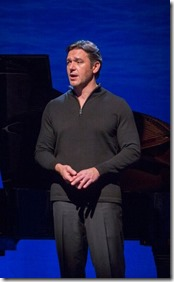 "Nathan Gunn stars in Hershey Felder's ""Baritones Unbound"", created by Marc Kudisch, Merwin Foard, Jeff Mattsey and Timothy Splain; directed by David Dower. (photo credit: Chuck Osgood)"