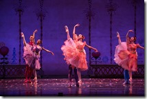 """Waltz of the Flowers from Joffrey Ballet's """"The Nutcracker,"""" conceived and directed by Robert Joffrey. (photo credit: Cheryl Mann)"""