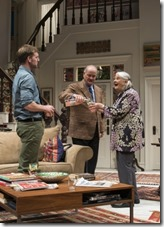 """Cliff Chamberlain, Francis Guinan and Lois Smith star in Steppenwolf Theatre's """"The Herd"""" by Rory Kinnear, directed by Frank Galati."""