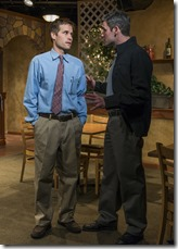 """Michael McKeough and Sam Guinan-Nyhart star in Griffin Theatre's """"Pocatello"""" by Samuel D. Hunter, directed by Jonathan Berry."""