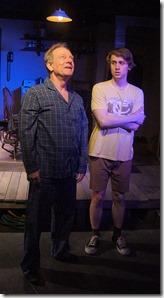 Brian Parry and Aaron Kirby in Drawer Boy, Redtwist Theatre