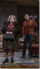 Cindy Gold and Jeff Parker in Mothers and Sons, Northlight Theatre Skokie