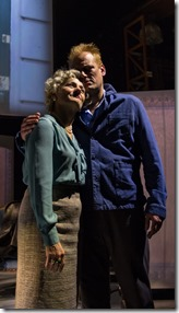Janet Ulrich Brooks and Mark L. Montgomery in 2666 Parv V, Goodman Theatre