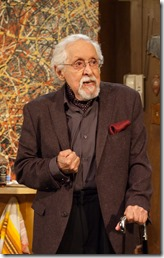 Mike Nussbaum as Lionel Percy in Bakersfield Mist by Stephen Sachs, TimeLine Theatre 01