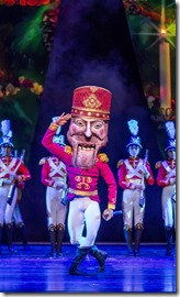 Alberto Velazquez as The Nutcracker in Nutcracker by Christopher Wheeldon, Joffrey Ballet