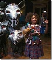 Ariana Burks stars as Clara in The Nutcracker, House Theatre Chicago 2
