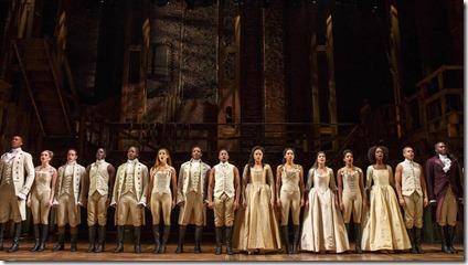 Hamilton by Lin-Manuel Miranda at PrivateBank Theatre, Broadway in Chicago 2