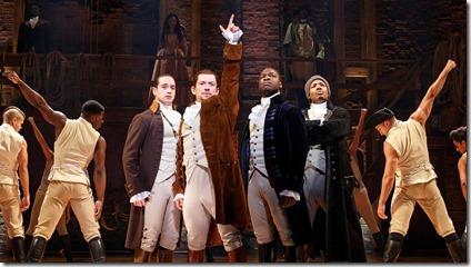 Hamilton by Lin-Manuel Miranda at PrivateBank Theatre, Broadway in Chicago 3