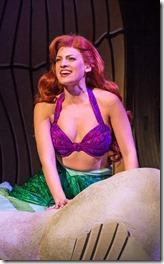 Kari Yancy stars as Ariel in The Little Mermaid, Paramount Theatre