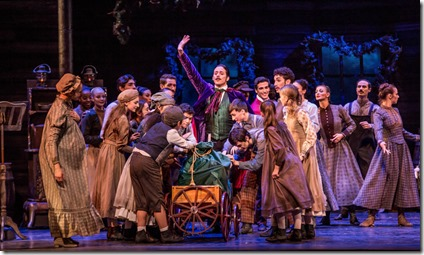 Miguel Angel Blanco as The Great Impresario in The Nutcracker, Joffrey Ballet