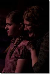 Lauren Mangum and  Morgan McCabe star in The Sundial, City Lit Theater
