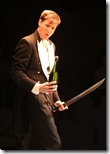 Michael Holding by Laura Wade in Posh, Steep Theatre GG