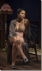 Toya Turner stars as Angel in Blues for an Alabama Sky, Court Theatre