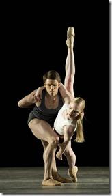 Sarah Lamb and Ricardo Cervera in Infra, The Royal Ballet, Joffrey Ballet (Bill Cooper)