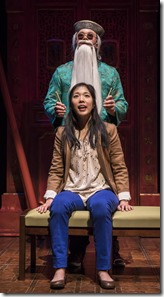 Rammel Chan and Stephenie Soohyun Park star in King of the Yees, Goodman Theatre