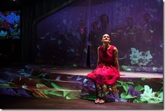 Cruz Gonzalez-Cadel stars as Myrna in La Havana Madrid, Teatro Vista Chicago