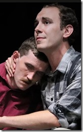 Garrett Wade Haley and Brandon Campbell star in One Thousand Words at Theater Faction
