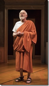 John Mahoney stars as Homer in The Rembrandt at Steppenwolf Theatre
