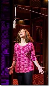 Sarah Bockel stars as Carole King singing Natural Woman in Beautiful, Broadway in Chicago