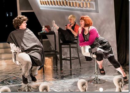 Jennifer Adams, Madelyn Loehr and Kirstin Franklin star in Bad Girls The Stylists, Akvavit Theatre