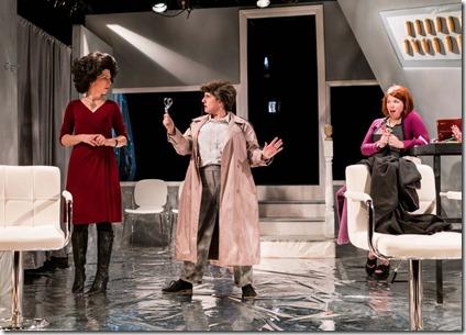 Kim Boler, Jennifer Adams and Kirstin Franklin star in Bad Girls The Stylists, Akvavit Theatre