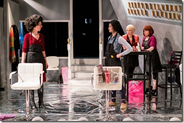 Kim Boler, Jennifer Cheung, Madelyn Loehr and Kirstin Franklin star in Bad Girls The Stylists, Akvavit Theatre