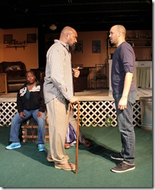 RjW Mays, Christopher K. McMorris and Michael Mejia-Beal star in Kingdom, Broken Nose Theatre
