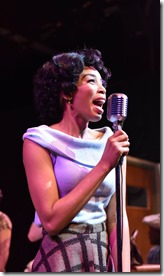 Aeriel Williams stars as Felicia Farrell in Memphis, Porchlight Music Theatre
