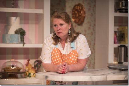 Tara Mallen stars as Della in The Cake, Rivendell Theatre