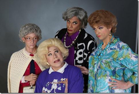Adrian Hadlock, Ed Jones, David Cerda and Grant Drager star in Golden Girls Lost Episodes Vol 2