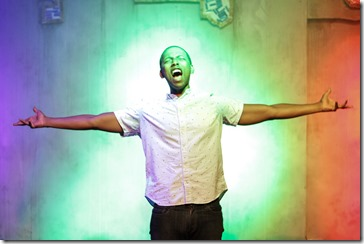 Chris Taylor stars as Obadiah in Defacing Michael Jackson by Aurin Squire, Flying Elephant Prod