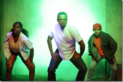 JoJo Pender, Chris Taylor and Eldridge Shannon III star in Defacing Michael Jackson