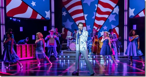 Eddie  Clendening stars as Elvis in Heartbreak Hotel, Broadway in Chicago at Broadway Playhouse