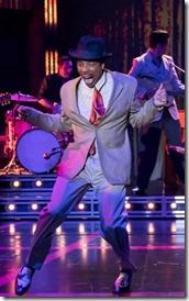 Geno Henderson stars as Chuck Berry in Heartbreak Hotel, Broadway in Chicago