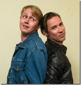 MIcah Kronlokken and Jude Hansen star in Holding the Man, Pride Films and Plays