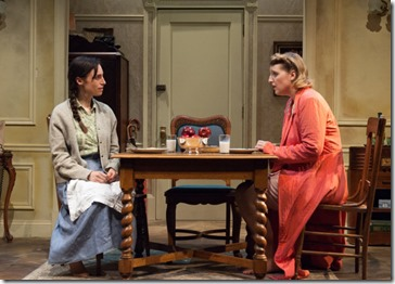 Emily Berman and Bri Sudia star as Lusia and Rose in A Shayna Maidel, TimeLine Theatre