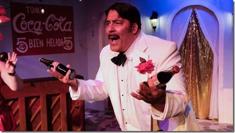 Johnny Garcia stars in El Grande de Coca-Cola, Waterfront Cafe (Joel Maisonet)