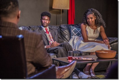 Marcus D Moore, Hunter Bryant and Kiayla Ryann star in The Shipment, Red Tape Theatre