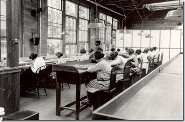 radium clock company - these shining lives, three crows theatre