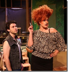 David Lipschutz and Sydney Genco star in The Artificial Jungle, Hell in Handbag Productions