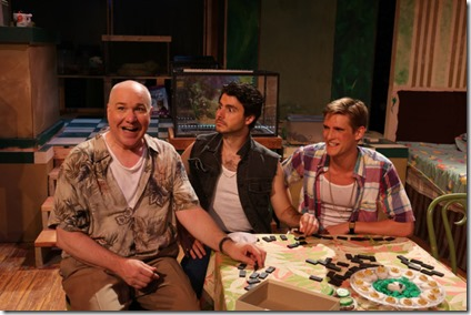 Ed Jones, David Lipschutz and Chazie Bly star in The Artificial Jungle, Hell in Handbag Productions