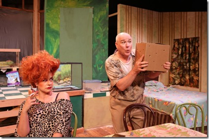 Sydney Genco and Ed Jones star in The Artificial Jungle, Hell in Handbag Productions