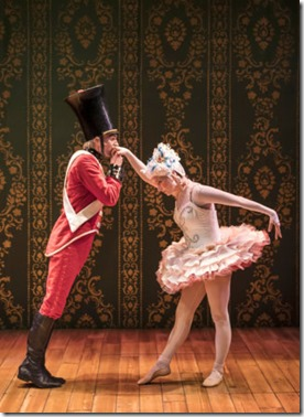 Alex Stein and Kasey Foster star in The Steadfast Tin Soldier, Lookingglass Theatre