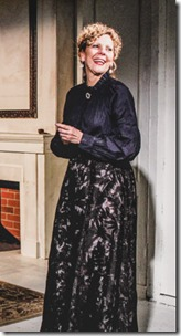 Devon Nimerfroh (Oswald Alving), James Sparling (Pastor Manders) and Jacqueline Grandt (Helen Alving) star in Ghosts