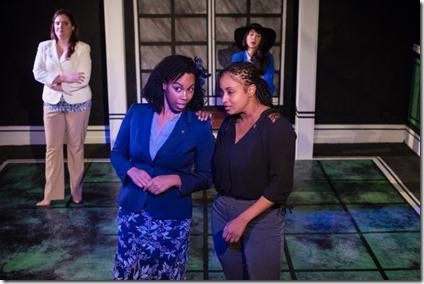 Katherine Duffy, Raina Lynn, Amber Cartwright and Rachael Soglin star in Love's Labour's Lost, Invictus Theatre