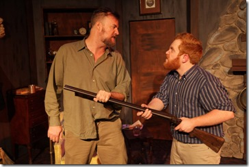 Robert Tobin and Dylan Todd star in The Lonesome West, AstonRep Theatre