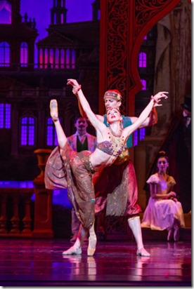 April Daly and Miguel Angel Blanco star in The Nutcracker, Joffrey Ballet, Christopher Wheeldon