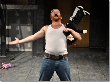 Bill Gordon stars as Bruce McClane in Yippee Ki-Yay Christmas A Die Hard Musical Parody